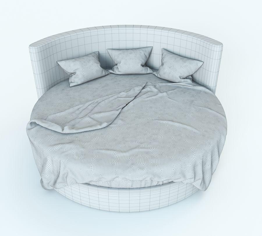 Säng för ett sovrum royalty-free 3d model - Preview no. 5