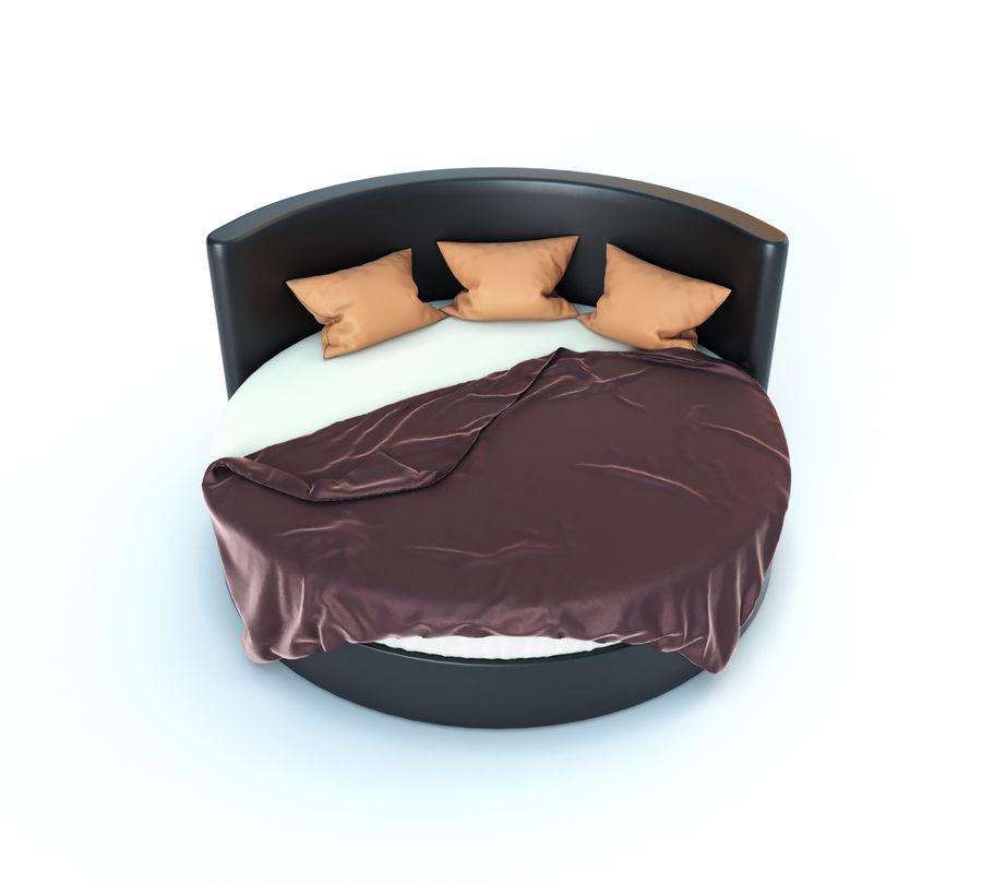 Säng för ett sovrum royalty-free 3d model - Preview no. 2