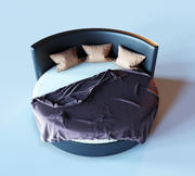 Bett für ein Schlafzimmer 3d model