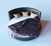 卧室床 3d model
