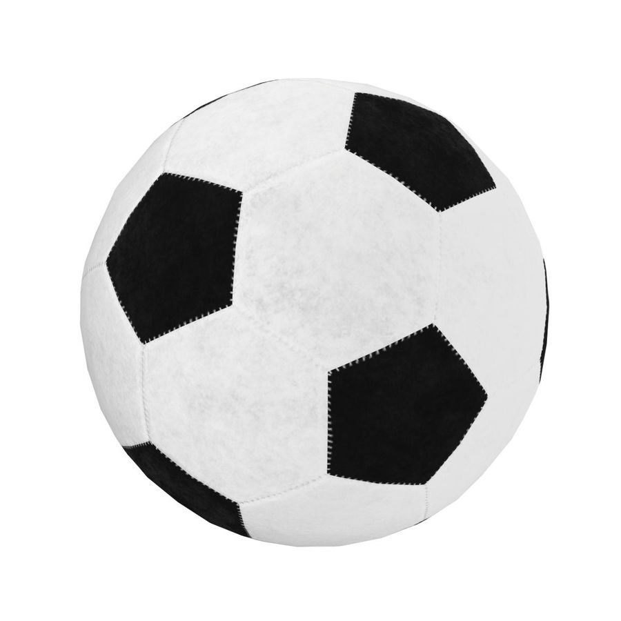 Football Soccer Ball 2 royalty-free 3d model - Preview no. 3