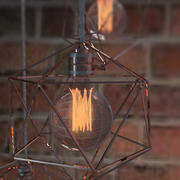 Geometric Edison Light Bulb 3d model
