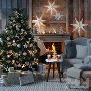С Рождеством! 3d model