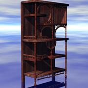 Wizards-Fantasy Hutch 3d model