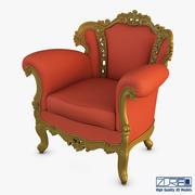 Rolnstreen扶手椅 3d model