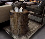 Petrified Wood Trunk Table 3d model
