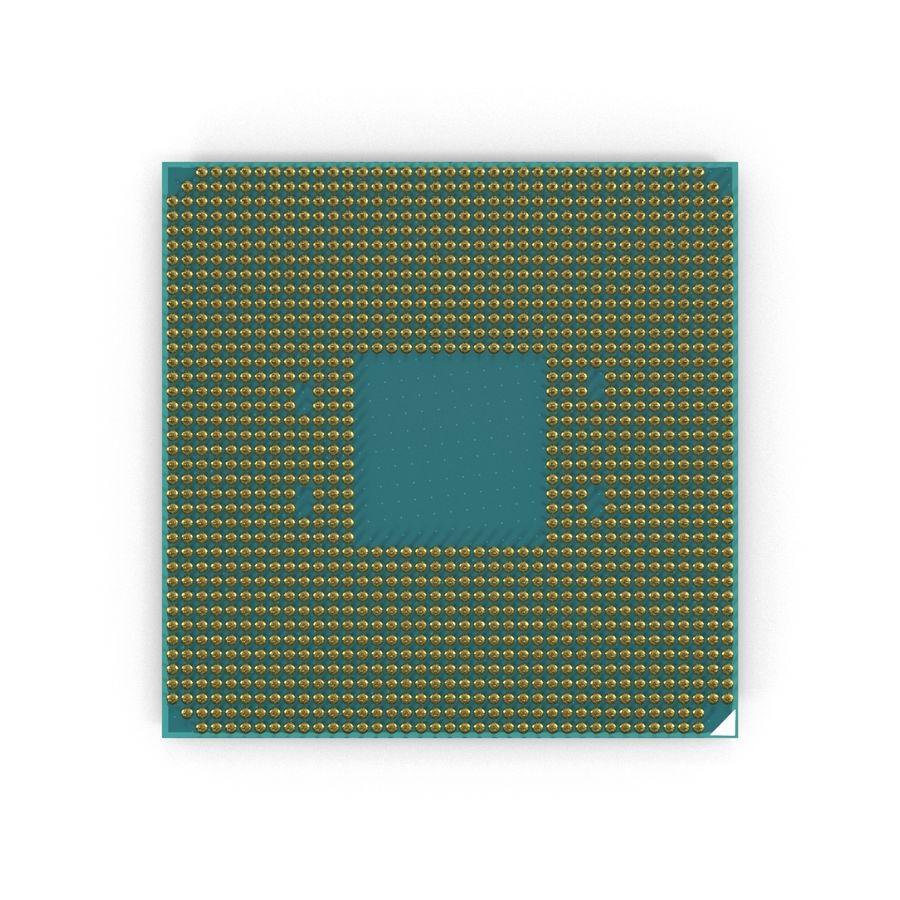 CPU Ryzen royalty-free 3d model - Preview no. 2