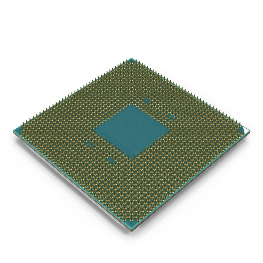 CPU Ryzen royalty-free 3d model - Preview no. 4