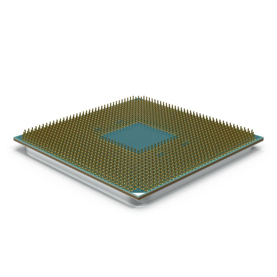 CPU Ryzen royalty-free 3d model - Preview no. 6