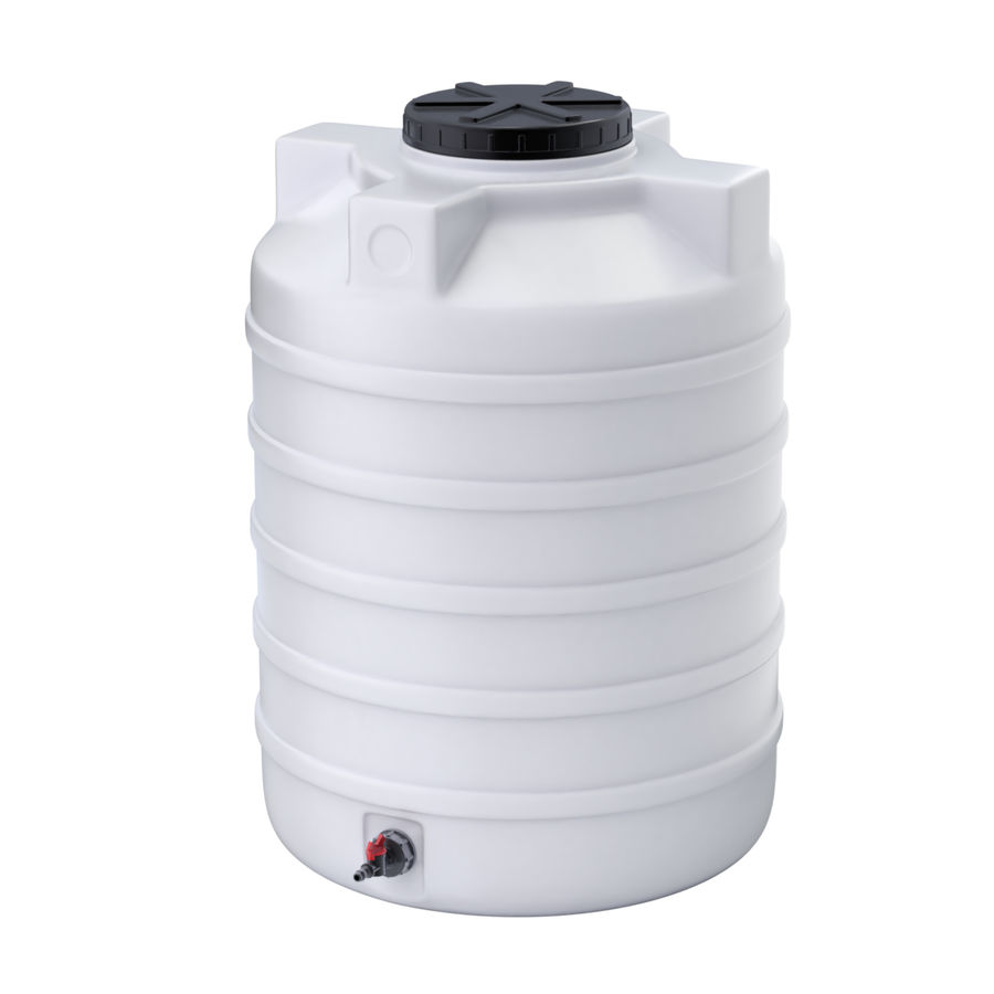 Plastic wateropslagtanks royalty-free 3d model - Preview no. 9