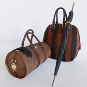 Burberry bags 3d model