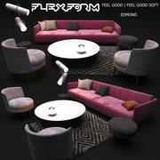 Ensemble de meubles du FLEXFORM 3d model