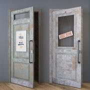 дверь чердак 3d model