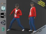 Cartoon Boy Motion Pack 2 3d model