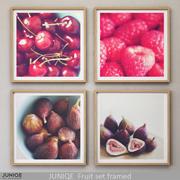 JUNIQE Set da frutta incorniciato 3d model
