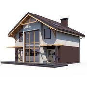 Huis ABS V106 3d model