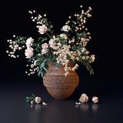White Bouquet 3d model