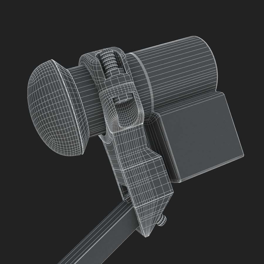 Home satellietschotel royalty-free 3d model - Preview no. 17