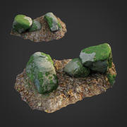 3d scanned nature stone 022 3d model