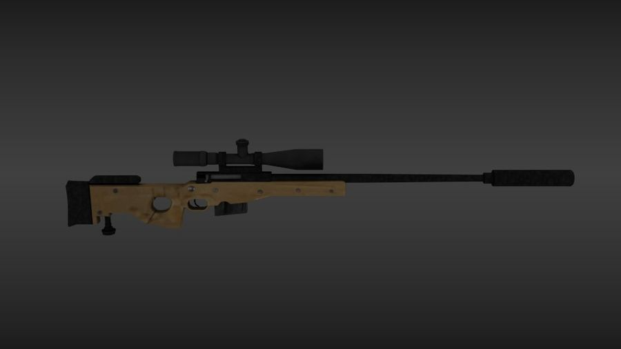 Precisión arma internacional royalty-free modelo 3d - Preview no. 3