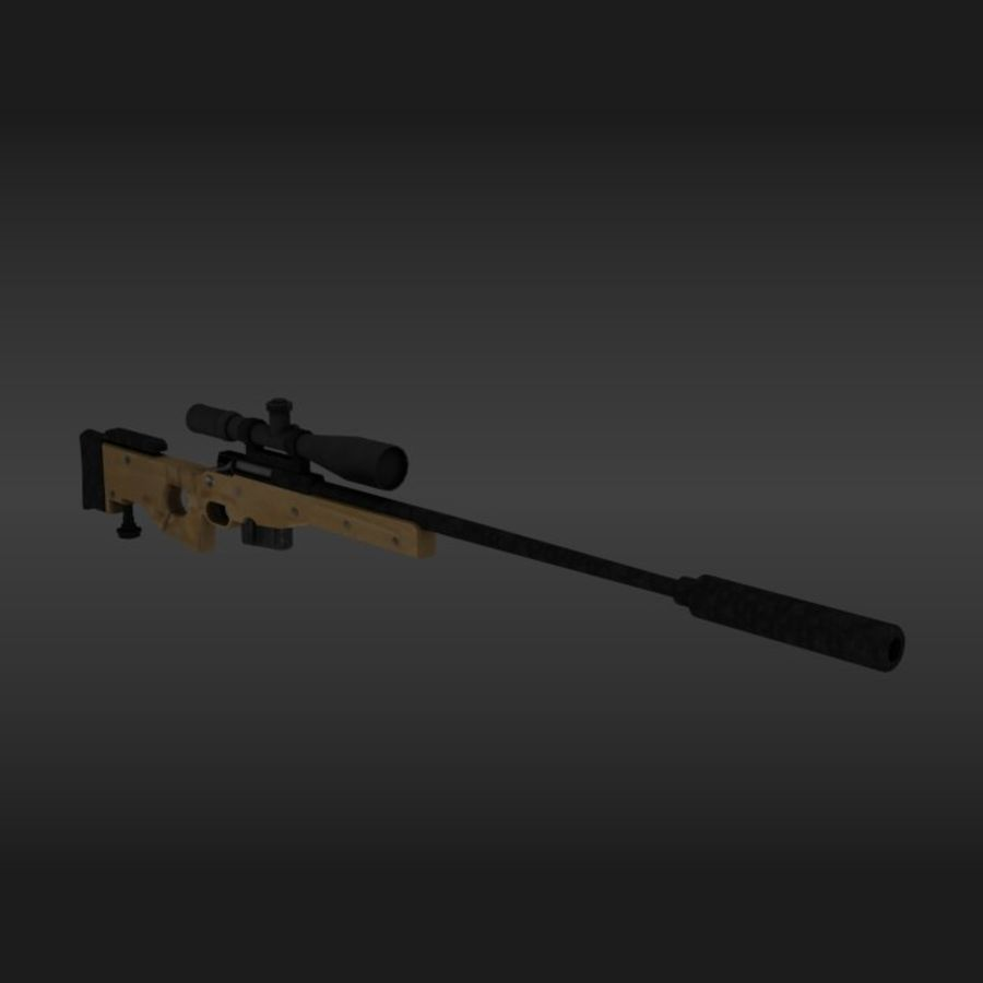 Precisión arma internacional royalty-free modelo 3d - Preview no. 1