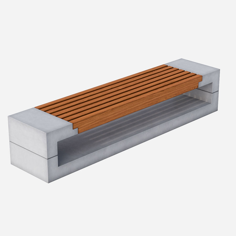 Bench Sky11 Elements 1030 royalty-free 3d model - Preview no. 1