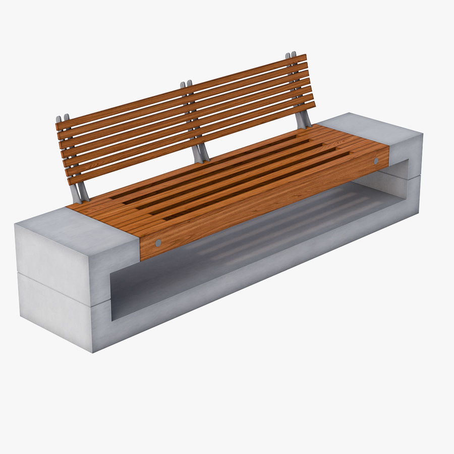 Bench Sky11 Elements 1040 royalty-free 3d model - Preview no. 1