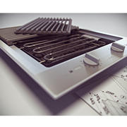 Miele CS 1322 BG烧烤炉 3d model