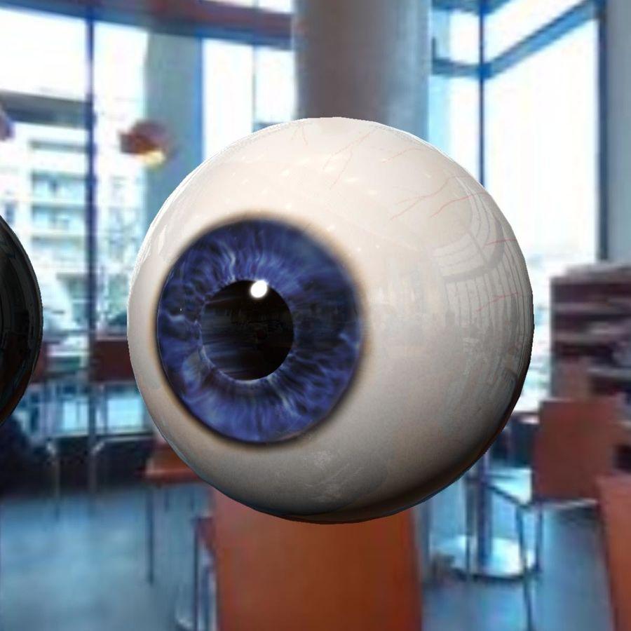 Реалистичный человеческий глаз royalty-free 3d model - Preview no. 5