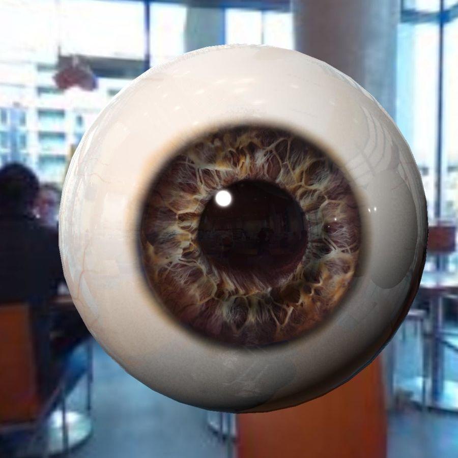 Реалистичный человеческий глаз royalty-free 3d model - Preview no. 2