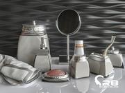 items for bathroom 3d model