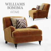 Williams Sonoma Bedford Chair 3d model