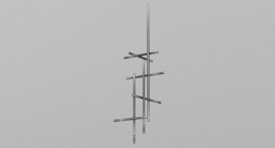天花灯005 royalty-free 3d model - Preview no. 4