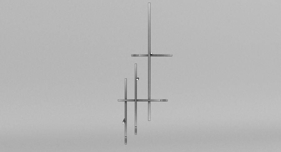 天花灯005 royalty-free 3d model - Preview no. 7