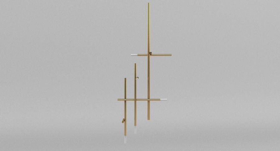 天花灯005 royalty-free 3d model - Preview no. 6