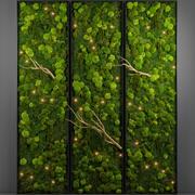 苔藓墙 3d model
