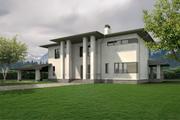 Casa privata 3d model