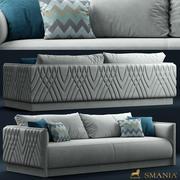майами диван 3d model