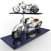 摩托车 3d model