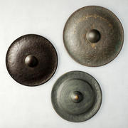 19th Century Laos Bronze Gongs 3d model