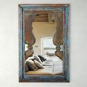 푸른 공작 거울 3d model