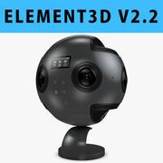 E3D - Caméra 3D Insta360 Pro à 360 degrés 3d model