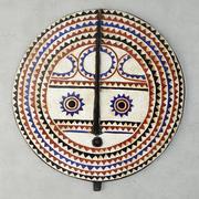 Baule Tribe Moon Mask Cote DIvoire 3d model