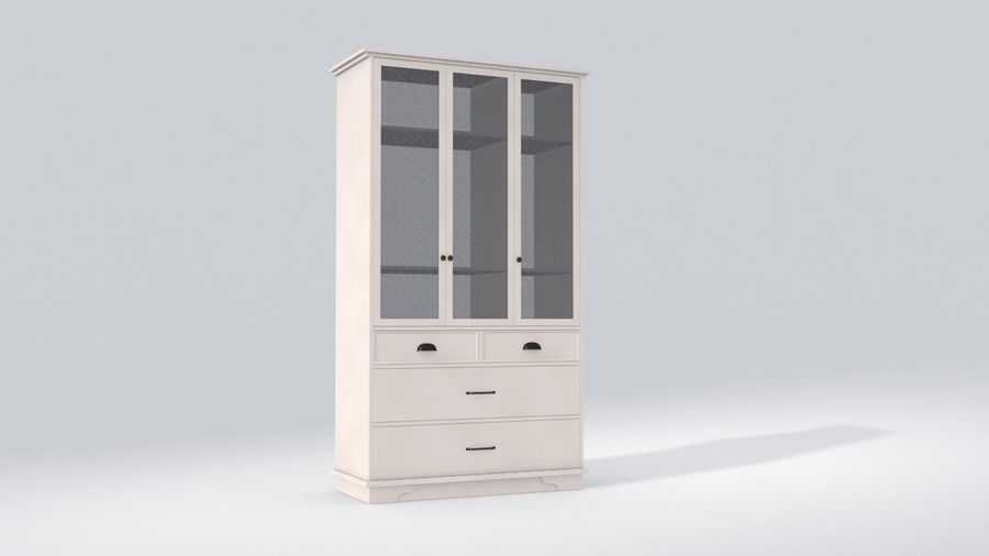 Schrank Schrank royalty-free 3d model - Preview no. 4