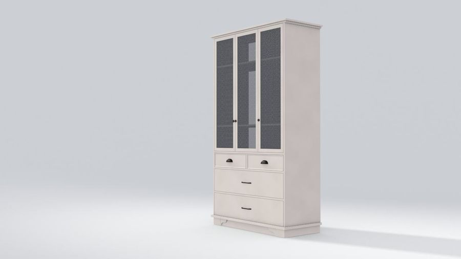 Schrank Schrank royalty-free 3d model - Preview no. 2