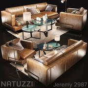 Sofa Natuzzi Jeremy var 3d model