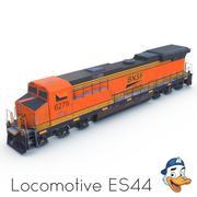 Lokomotiv ES44 3d model