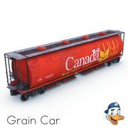 Grain Car 3d model