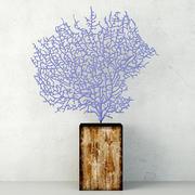 Gorgonia esotica della lavanda 3d model