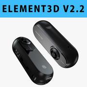E3D - Insta360 ONE Action Camera 3d model